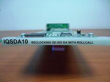 SNELL & WILCOX IQSDA10 RECLOCKING SD-SDI DA WITH ROLLCALL CARD, WITH REAR MODULE