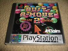 BUST-A-MOVE 2 Arcade Edition SONY PLAYSTATION 1 2 PS1 PS2 Coffret disque de jeu instrumental