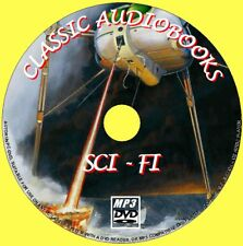 17 CLASSIC SCI-FI NOVELS MP3 UNABRIDGED AUDIO BOOKS DVD ROM NEW SCIENCE FICTION