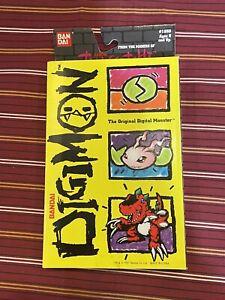 RARE 1997 Bandai Tamagotchi ORIGINAL DIGIMON Gray With Original Box New Batt!!