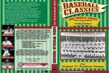 1956 World Series, Yanks vs Brooklyn, plus TV broadcast & W.S. Preview on DVD!