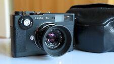Leica CL mit Summicron-C 1:2/40 LEITZ WETZLAR Nr.2593838