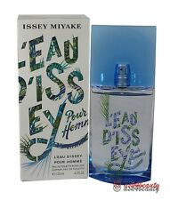 Issey Miyake Summer 2018 Pour Homme 4.2 oz/125 ml EDT Spray for Men - New in Box