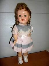 "Ideal ~ Vintage 16"" HP 1950's Saucy Walker Doll w/Working Crier"