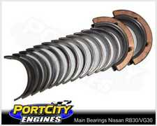 Main Bearing set for Nissan 6cyl RB30E Holden Commodore Calais VL 3.0L 7M2394