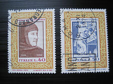 ITALIEN  MiNr. 1455-1456 gestempelt (M 997)
