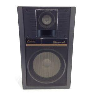 MITSUBISHI Vintage Black Single Speaker Model SS-L70 - GOOD CONDITION TESTED