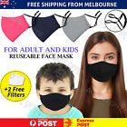 Reusable Face Mask Washable Unisex Anti Pollution Hay Fever Cotton PM2.5 Filter <br/> 🔥Good Quality🔥2 Free Filters🔥3 Layer🔥Fast Handling