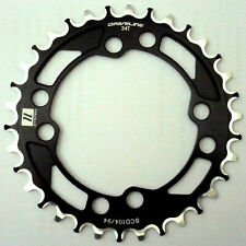 Driveline Chainring 34T, BCD 104mm, BCD 94mm, 11 Speed, ABN
