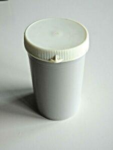 Vintage Securitainer JJ UK EMPTY Plastic Medicine Container Tablet Holder 49x85