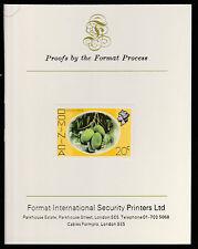 Dominica (406) 1975 Mango Longue 20c imperf on Format International PROOF  CARD