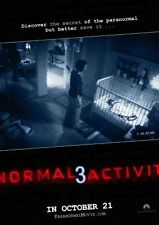 Paranormal Activity 3 Movie Poster 24in x 36in