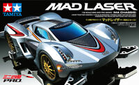 TAMIYA 1:32 MINI 4WD MAD LASER MA CHASSIS PRO SERIES CON MOTORE ART  18648