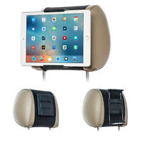 TFY Universal Car Headrest Mount Holder for Phones and Tablets 5 - 10.5 Inch