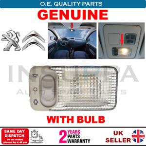 Indoor Overhead Roof Light For Peugeot 107 108 206 306 406 806 Partner Tepee