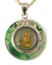Jade Pendant with Kuan Yin Inside without Chain