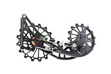 KCNC SXT MTB Bicycle Bike Oversized Pulley Cage for XTR M9000/XT M8000 Black