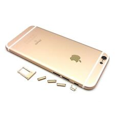 Metal Back Battery Cover Housing Case for iPhone 6S Gold