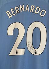 BERNARDO SILVA Signed Manchester City 2019/20 Home Shirt BNWT Man City