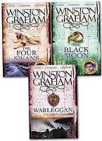 Winston Graham Poldark Series Trilogy Books 4, 5, 6, Collection 3 Books Set