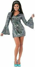 Polyester Disco Silver Costumes