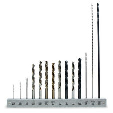 Drill Bit Set with Holder - 14 Drill Bits Included