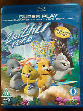 Zhu Zhu Pets: Quest For Zhu 3D Blu-ray 2011 Animated Feature Film Movie