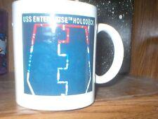 Star Trek The Next Generation Holodeck Mug, Picard & Data As Muskateers, Unused