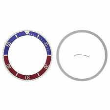 BEZEL + INSERT FOR ROLEX SUBMARINER 16800 16808 16813 16818 16610 16613 BLUE/RED