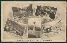 Brescia Ponte di Legno Saluti da cartolina QK6897