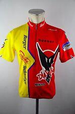 Santini Cycling Diavolo Waldkirch jersey maglia Rad Trikot Gr. M 50cm 17B