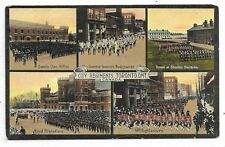 TORONTO ONTARIO City Regiments Multi - view postcard