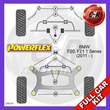 BMW F20, F21 1 Series (2011 - ) Front Camber Adj Powerflex Complete Bush Kit