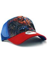 New Era Spider-Man Adjustable Hat Marvel Comics Super Heroes DC Blue Red NWT
