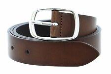 MUSTANG Leather Belt 3.0 W85 Gürtel Accessoire Baileys Braun Neu