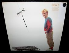 HOWARD JONES New Song (1983 U.S. 4 Track White Label Picture Cover Promo 12inch)