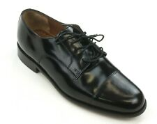 NEW BOSTONIAN BLACK LEATHER LACED AKRON OXFORD DRESS SHOES SIZE 11