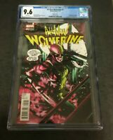 Marvel Comics All-New Wolverine #2 CGC Rated 9.6 1st Gabby Lopez Variant