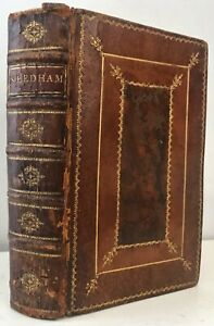 1750 Needham MICROSCOPIC OBSERVATIONS French Discoveries Animal Vegetable Plates