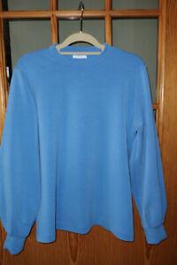 Opus Sweatshirt Damen Gr.40-42 blau Pullover