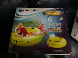 Sevylor Float 1 Person Tube Snap and Stay Lake Water 47 inches NEW