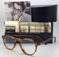 OLIVER PEOPLES Eyeglasses GREGORY PECK OV 5186 1011 45-23 Raintree Round Frames
