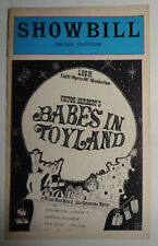 BABES IN TOYLAND - SHOWBILL - EASTSIDE PLAYHOUSE, NYC, 1981