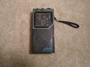 Vintage GFX Multi Band Radio Receiver #75850 - WB, PB, AIR, CB, TV1, FM