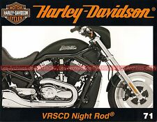 HARLEY DAVIDSON VRSCD 1130 Night Rod ; Hamburg Days ; Revue Enthusiast 1970 MOTO