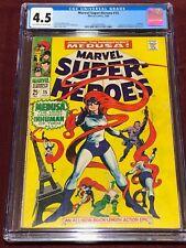 MARVEL SUPER-HEROES 15 CGC 4.5 Inhumans Medusa Colan Goodwin Coletta 1968