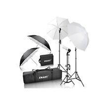 Complete Photo Studio Lighting Kit Portrait Photography Shooting Video Umbrella