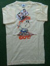 """NOS 1970s vintage Panatta T Shirt Girl 28"""" tennis beach Wimbledon"""