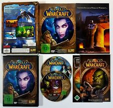 PC/Mac DVD Rom WORLD OF WARCRAFT Blizzard Entertainment 2006 dt. OVP