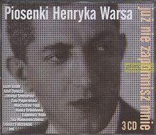 = JUZ NIE ZAPOMNISZ MNIE - Piosenki Henryka WARSA/ Aston,Dymsza,Fogg,Bodo / 3 CD
